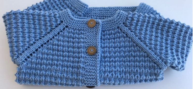 Knit Cardigan Models For All Babies
