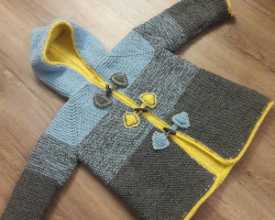 3 Year Old Baby Knit Cardigan